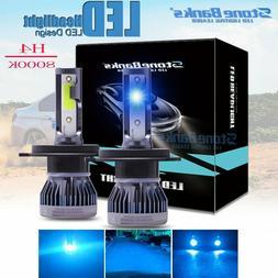 2x H4 9003 120W 280000LM LED Headlight Kit Hi/Lo Beam Light