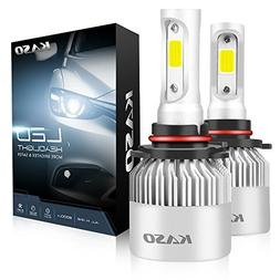 9005 LED Headlight Bulbs - KASO All-in-One Conversion Kit HB