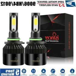 9006 LED Headlight Bulb Kit HB4 CREE 60W 18000LM 6500K Singl