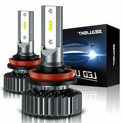 H11/H8/H9 LED Headlight Bulbs Conversion Kit, DOT Approved,
