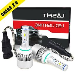 LASFIT LED Headlight Bulbs All-in-One Conversion Kit 9006 HB