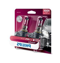 Philips 9006 VisionPlus Upgrade Headlight Bulb with up to 60