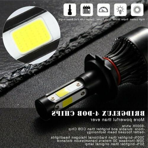 Pair 4-sides H7 CREE LED 6000K Replacement Bulb JO
